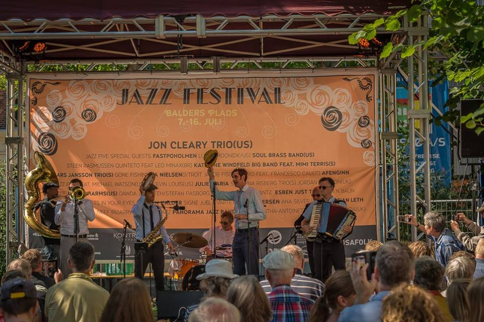 Panorama Jazz Band at the Fringe Jazz Festival, Copenhagen (Denmark), July 2017 (photo by John Kublick)