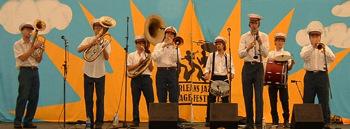 Panorama Brass Band at New Orleans Jazz & Heritage Festival