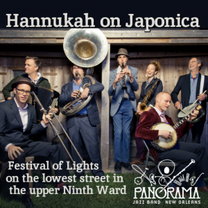 Hannukah on Japonica Album Cover