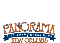 Panorama Jazz Band / Brass Band Logo